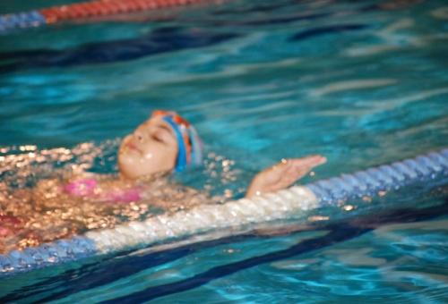 Yüzme Ders Fotografları